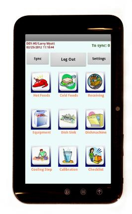 Service Android App